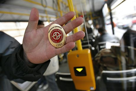 Контроль билетов в Праге