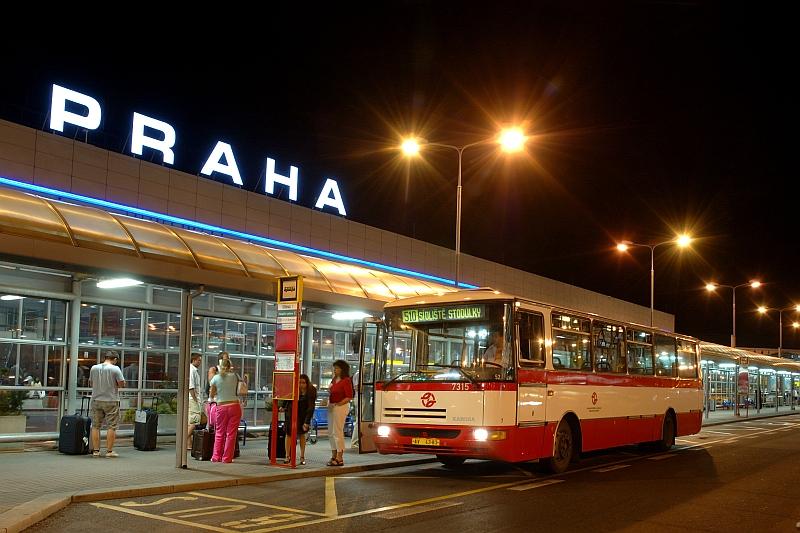 транспорт до / из аэропорта Праги